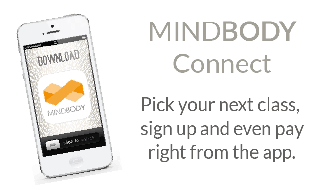 Click here to login to your mindbody account.